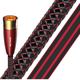 AudioQuest Red River XLR to XLR PVC Analog Audio Interconnect Cables - 6.56