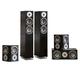 KLH Cambridge 5.0 Speaker System (Black Oak)