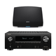 Denon AVR-X2500H 7.2-Channel 4K Ultra HD AV Receiver with HEOS 5 Wireless Streaming Speaker - Series 2 (Black)