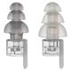 Etymotic Research ER20XS Standard Fit High-Fidelity Earplugs (Clear/Frost)