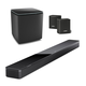 Bose Soundbar 700 5.1 Home Theater System with Amazon Alexa Built-In, Surround Wireless Speakers, and Bass Module 700 Subwoofer (Black)