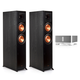 Klipsch RP-6000F Reference Premiere Floorstanding Speakers (Ebony) with Sonos CONNECT:AMP Wireless Amplifier for Streaming Music