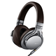 Sony MDR-1A DAC Integrated Headphones w/40mm Drivers (Silver)