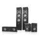 JBL Studio 290 5.0 Home Theater Speaker System Package (Black)