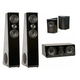 SVS Ultra Tower 5.0 Surround System (Piano Gloss Black)