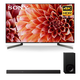 Sony XBR-75X900F 75 BRAVIA 4K Ultra HD HDR Smart TV and HT-Z9F 3.1-Channel Dolby Atmos Sound Bar with Subwoofer