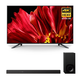 Sony XBR-65Z9F 65 MASTER Series BRAVIA 4K HDR UHD TV and HT-Z9F 3.1-Channel Dolby Atmos Sound Bar with Subwoofer