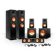 Klipsch 5.2 RP-260 Reference Premiere Speaker Package with R-112SW Subwoofers and two FREE Wireless Kits (Ebony)