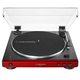 AudioTechnica AT-LP60XBT-RD Fully Automatic Belt-Drive Stereo Turntable with Bluetooth (Red)