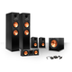 Klipsch 5.1 RP-250 Reference Premiere Speaker Package with R-110SW Subwoofer and a FREE Wireless Kit (Ebony)