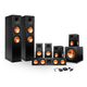 Klipsch 7.1 RP-280 Reference Premiere Surround Sound Speaker Package with R-115SW Subwoofer and a FREE Wireless Kit (Black)