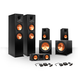 Klipsch 5.2 RP-250 Reference Premiere Speaker Package with R-110SW Subwoofers and two FREE Wireless Kits (Ebony)