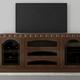Furnitech 78 FT78TR Transitional TV Console (Cognac)
