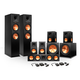 Klipsch 7.2 RP-280 Reference Premiere Surround Sound Speaker Package with R-115SW Subwoofers and two FREE Wireless Kits