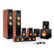 Klipsch 7.1 RP-280 Reference Premiere Surround Sound Speaker Package with R-115SW Subwoofer and a FREE Wireless Kit (Che