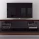 Furnitech 70 FT70CF TV Stand Media Console (Walnut)