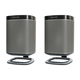 Flexson Desk Stands for Sonos One, One SL, and PLAY:1 Wireless Speakers - Pair (Black)