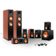 Klipsch 7.1 RP-250 Reference Premiere Surround Sound Speaker Package with R-110SW Subwoofer and a FREE Wireless Kit (Che