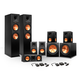 Klipsch 7.2 RP-250 Reference Premiere Surround Sound Speaker Package with R-110SW Subwoofers and two FREE Wireless Kits