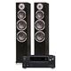 Onkyo TX-RZ630 9.2-Channel Network AV Receiver and KLH Kendall 3-Way Floorstanding Speakers - Pair (Black)