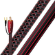 AudioQuest Irish Red RCA Male to RCA Male Subwoofer Cable - 6.56 ft. (2m)