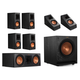 Klipsch RP-600M 5.1.2 Dolby Atmos Home Theater System (Ebony)
