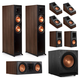 Klipsch RP-6000F 7.1.2 Dolby Atmos Home Theater System (Walnut)