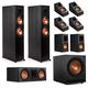 Klipsch RP-6000F 7.1.2 Dolby Atmos Home Theater System (Ebony)