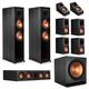 Klipsch RP-8000F 7.1.2 Dolby Atmos Home Theater System (Ebony)