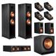 Klipsch RP-8000F 5.1.4 Dolby Atmos Home Theater System (Ebony)