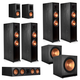 Klipsch RP-8060FA 7.2.4 Dolby Atmos Home Theater System (Ebony)