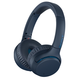 Sony WH-XB700 Wireless On-Ear Extra Bass Headphones with Built-In Microphone and Remote (Blue)