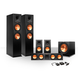 Klipsch 5.1 RP-260 Reference Premiere Speaker Package with R-112SW Subwoofer and a FREE Wireless Kit (Ebony)
