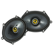 Kicker 46CSC684 CS-Series 6x8 2-Way Coaxial Speakers