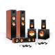 Klipsch 5.2 RP-260 Reference Premiere Speaker Package with R-112SW Subwoofers and two FREE Wireless Kits (Cherry)