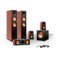 Klipsch 5.1 RP-250 Reference Premiere Speaker Package with R-110SW Subwoofer and a FREE Wireless Kit (Cherry)