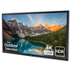 Sunbrite SB-V-65-4KHDR 65 4K UHD Veranda Outdoor LED HDR TV for Full Shade (Black)