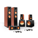 Klipsch 5.2 RP-250 Reference Premiere Speaker Package with R-110SW Subwoofers and two FREE Wireless Kits (Cherry)