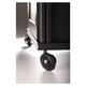 Salamander Set of 6 Saturn Wheels for AV Cabinets (Satin Black)
