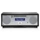 Tivoli Audio Music BT All-In-One Wireless Bluetooth System (Black Ash/Silver)