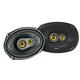 Kicker 46CSC6934 CS-Series 6x9 3-Way Triaxial Speakers