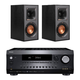 Integra DRX-2.1 7.2 Channel Network A/V Receiver with Klipsch R-41M Reference Bookshelf Speakers - Pair