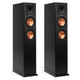 Klipsch RP-250F Reference Premiere Floorstanding Speaker with Dual 5.25 inch Cerametallic Cone Woofers - Pair (Ebony)