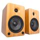 Kanto YU6 Powered Bookshelf Speakers with Built-In Bluetooth - Pair (Bamboo)