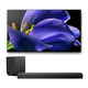 Sony XBR-77A9G 77 BRAVIA OLED 4K UHD Smart TV with HDR with HT-ST5000 7.1.2ch 800W Dolby Atmos Sound Bar