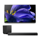 Sony XBR-65A9G 65 BRAVIA OLED 4K UHD Smart TV with HDR with HT-ST5000 7.1.2ch 800W Dolby Atmos Sound Bar