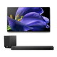 Sony XBR-55A9G 55 BRAVIA OLED 4K UHD Smart TV with HDR with HT-ST5000 7.1.2ch 800W Dolby Atmos Sound Bar