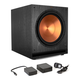 Klipsch SPL-150 15 Subwoofer (Ebony) with WA-2 Wireless Subwoofer Kit