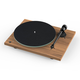Pro-Ject T1 Reference Turntable with Speed Change and Pre-Amp (Walnut)