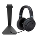 Audeze Mobius Audiophile Wireless Over-Ear Gaming Headphones (Carbon) with Kanto H1 Stand (Black)